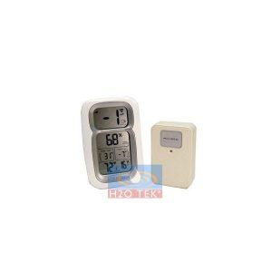 Indicador dual temperatura y humedad digital c/ sensor remoto inalambrico
