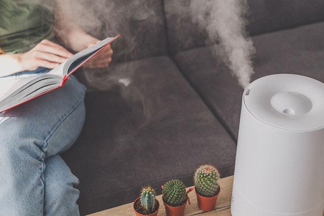 Consejos médicos y medioambientales en el uso del humidificador